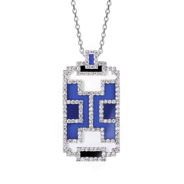Swoonery-Skywatch mini medallion