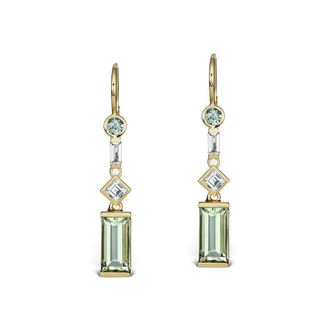 Swoonery-Cirque Petite Dangle Earrings