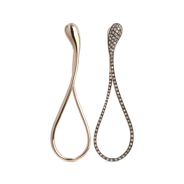 Swoonery-Elika Long Mixed Earrings