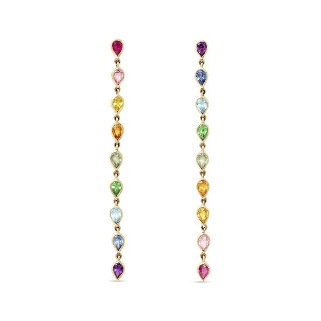 Swoonery-Petal Drop Earrings