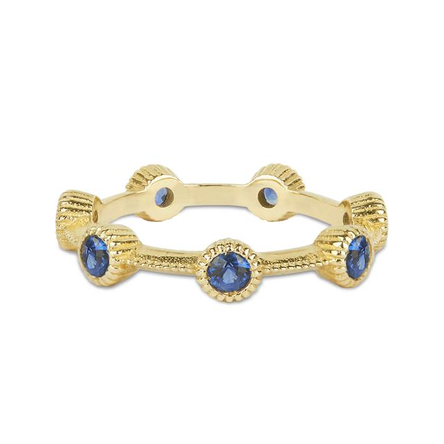 Swoonery-Beloved Eternity Sapphire Ring