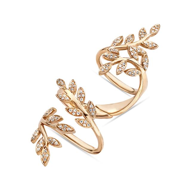 Swoonery-Wrap Leaves Ring