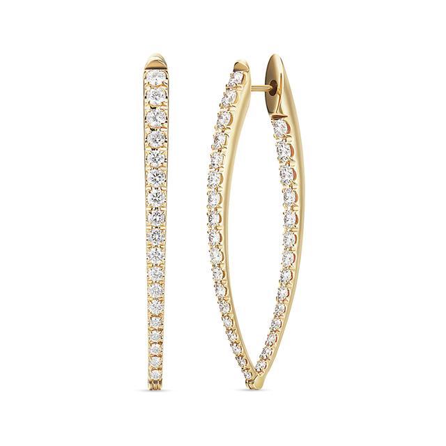 Swoonery-Diamond Large Cristina Earrings