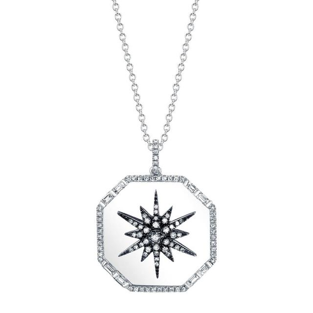 Swoonery-Starburst Disk Necklace