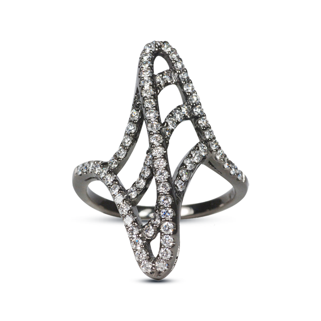 Swoonery-Wave Silhouette Ring