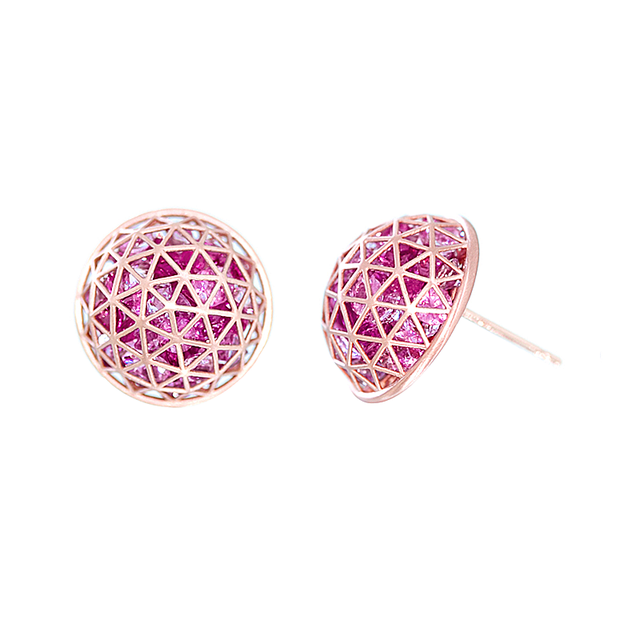 Swoonery-Shaker Dome Earrings