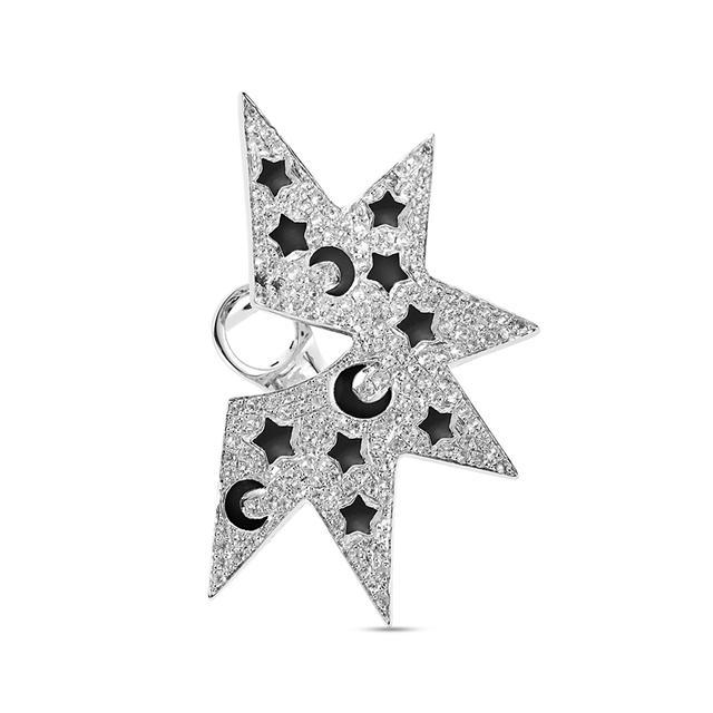 Swoonery-Solo Star Mono Earring