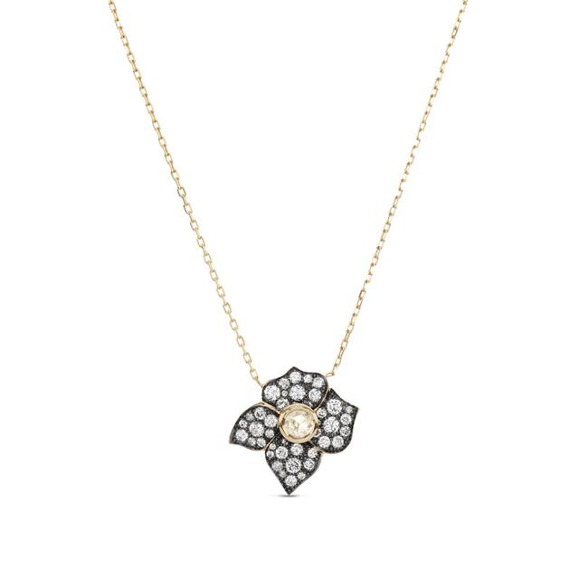 Swoonery-HAIL STORM FIORE PENDANT