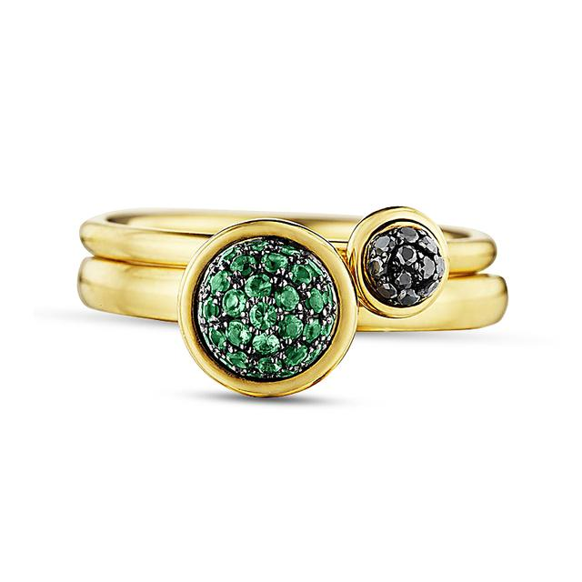 Swoonery-Stacking Rings in Evening