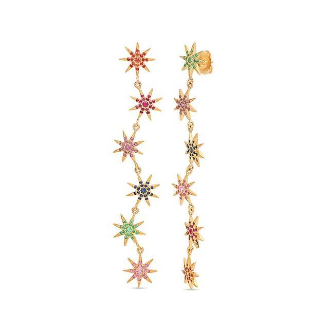 Swoonery-Rainbow Starburst Duster