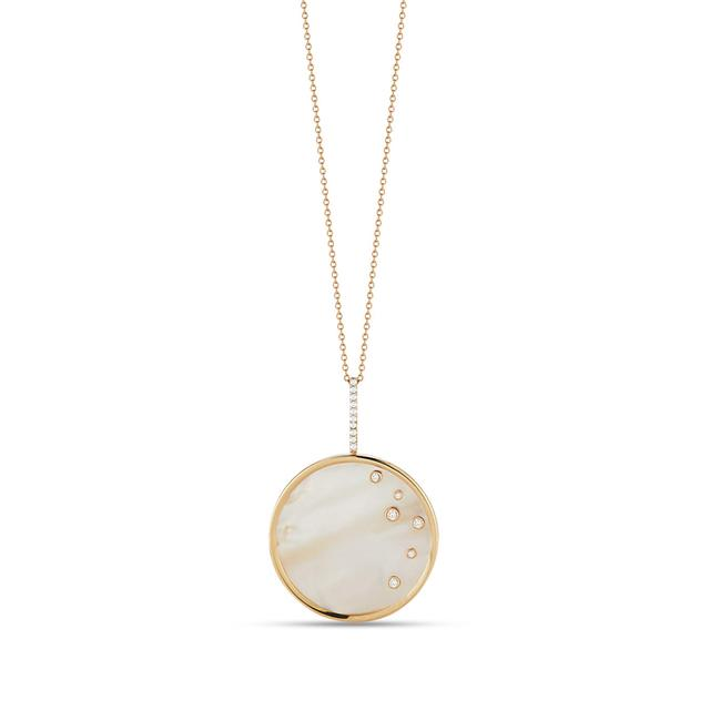 Swoonery-Mother of Pearl Medallion