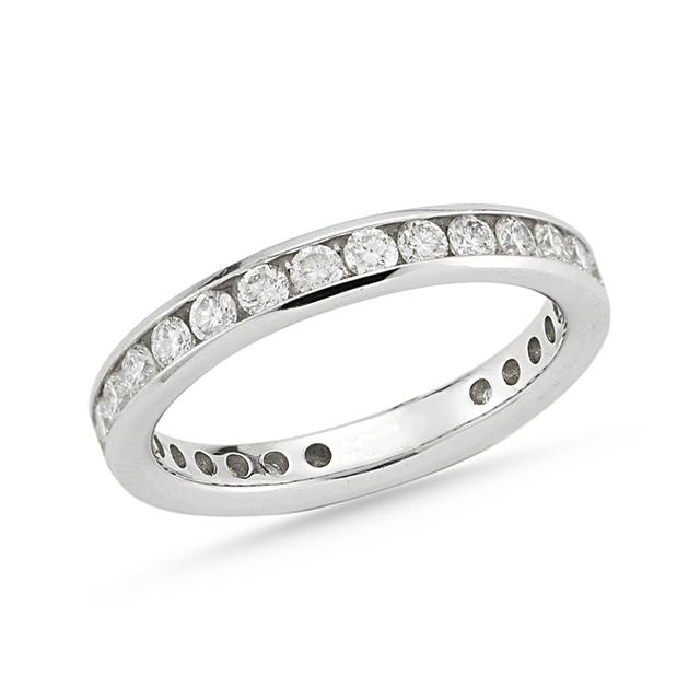 Swoonery-Channel Set Eternity Band